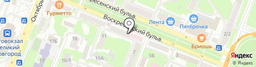Мода для тебя на карте Великого Новгорода
