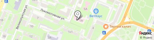 Новгородский областной противотуберкулезный диспансер на карте Великого Новгорода