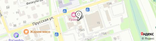 Магазин обоев и штор на карте Великого Новгорода