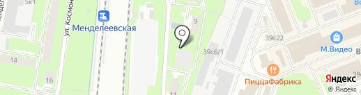 Медицинский колледж на карте Великого Новгорода