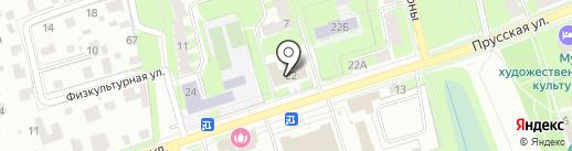 Деловой партнер на карте Великого Новгорода