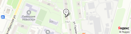 Архивный отдел на карте Великого Новгорода