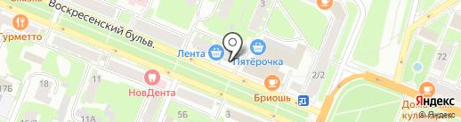 Экостройдом на карте Великого Новгорода