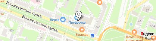 Энергогарант на карте Великого Новгорода