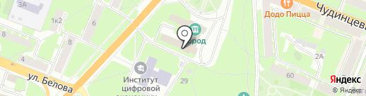 Лидер на карте Великого Новгорода