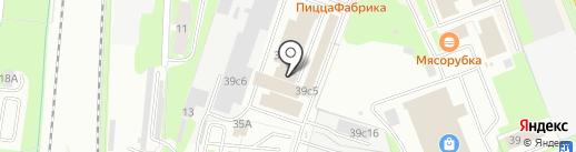 Сервисная компания НовЗип на карте Великого Новгорода