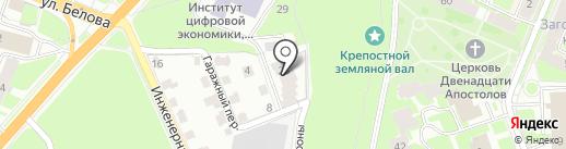Коттеджный Рай на карте Великого Новгорода