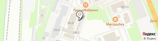 Sikkens на карте Великого Новгорода