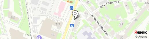 ГазБытТорг на карте Великого Новгорода