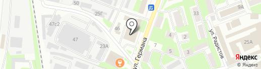 Адвокатский кабинет Лабутиной Я.Ю. на карте Великого Новгорода