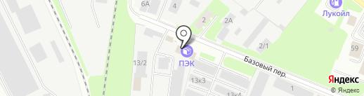 ТРЕВИС и ВВК на карте Великого Новгорода