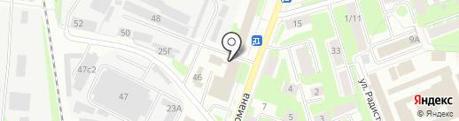 ПромЭнергоБезопасность на карте Великого Новгорода