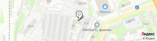 Центр лабораторного анализа и технических измерений по Новгородской области на карте Великого Новгорода