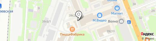 Автопрофи на карте Великого Новгорода