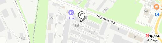 ФРУНЗЕНСКИЙ на карте Великого Новгорода
