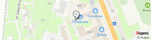 Магазин штор на карте Великого Новгорода