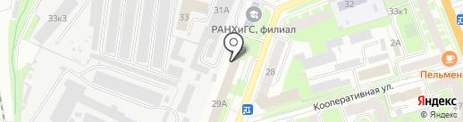 Мастерфайбр-ВН на карте Великого Новгорода