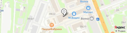 Магазин ковров на карте Великого Новгорода