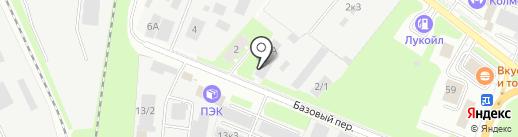 Новгородтисиз на карте Великого Новгорода