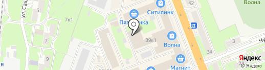 СпортАктив на карте Великого Новгорода