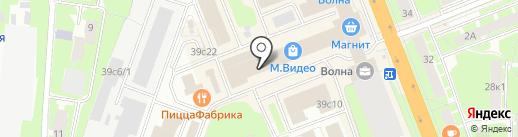 Эльсинор на карте Великого Новгорода