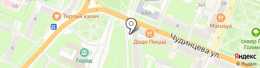 Здоровый город на карте Великого Новгорода