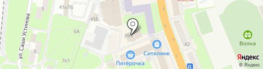 Русский Дом на карте Великого Новгорода