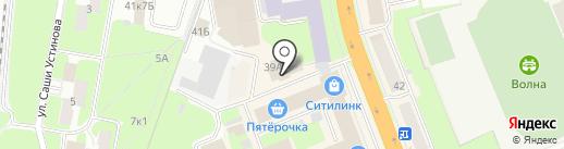 Оникс на карте Великого Новгорода