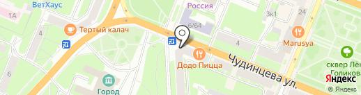 БЭСТФОН на карте Великого Новгорода