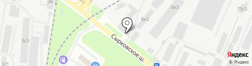 EXPRESS LINE на карте Великого Новгорода