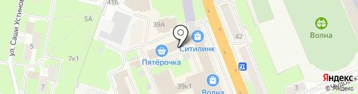 Галерея штор на карте Великого Новгорода