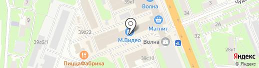 Магазин бижутерии на карте Великого Новгорода