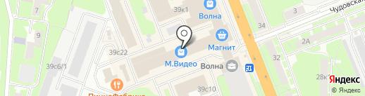 MegaPolis на карте Великого Новгорода
