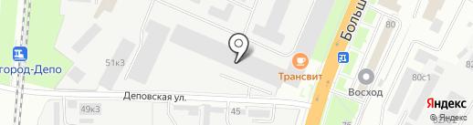 ЭЛЕКТРОН-КОМПЛЕКС на карте Великого Новгорода