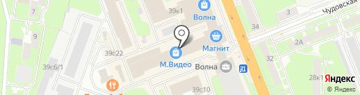 Мисс Коллекшн на карте Великого Новгорода