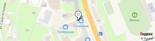City life на карте Великого Новгорода