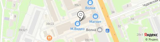 HomeMe на карте Великого Новгорода