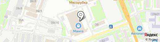 Ковкин дом на карте Великого Новгорода