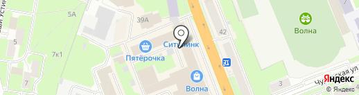 Mees на карте Великого Новгорода
