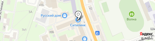 Магазин мужской одежды на карте Великого Новгорода