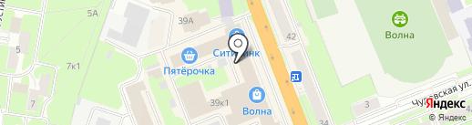 ULA на карте Великого Новгорода