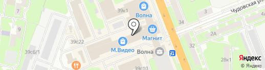 Магазин женской одежды для дома на карте Великого Новгорода