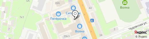Balconette на карте Великого Новгорода