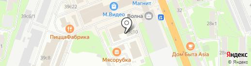 ФОТОН на карте Великого Новгорода