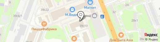 НовСтрой на карте Великого Новгорода
