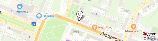 Региональный центр подготовки документов на карте Великого Новгорода