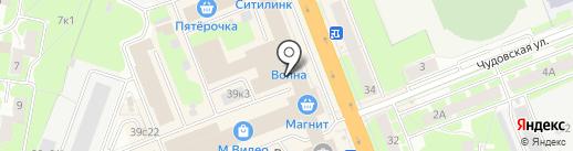 Магазин женской одежды на карте Великого Новгорода