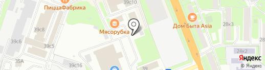 ЭLEKTRONIK на карте Великого Новгорода