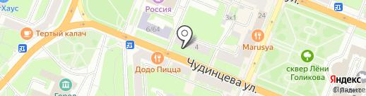 Тур53 на карте Великого Новгорода