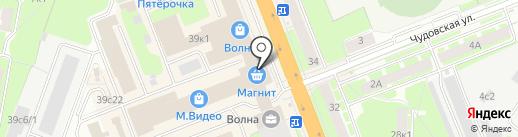 Lucky day на карте Великого Новгорода